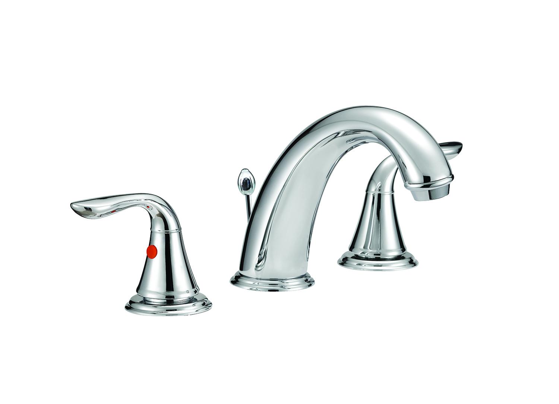 Aqua Plumb Wide Spread Chrome Bathroom Faucet | Heeby\'s Surplus Inc.
