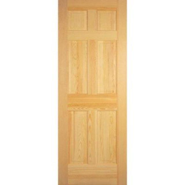 36 6 Panel Exterior Slab Door Heebys Surplus Inc