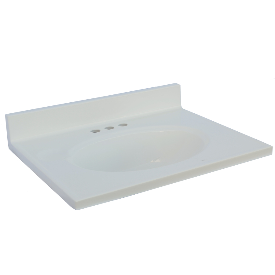 Cultured Marble 31 X 19 Vanity Top | Heeby's Surplus Inc.