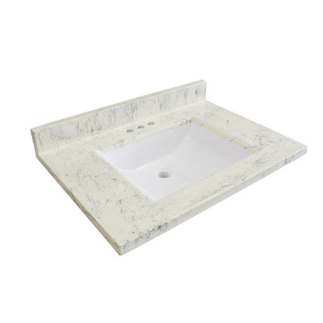 tops x white canada s integral top cultured vanity lowe bathroom vanities in marble wave bath ca