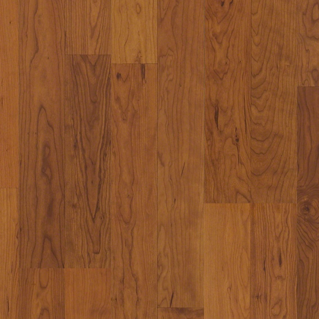 1 39 Sq Ft Shaw 8mm Glueless Laminate America Cherry