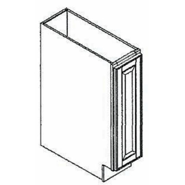 9 Wide Base Kitchen Cabinet Arcadia White Heeby S Surplus Inc