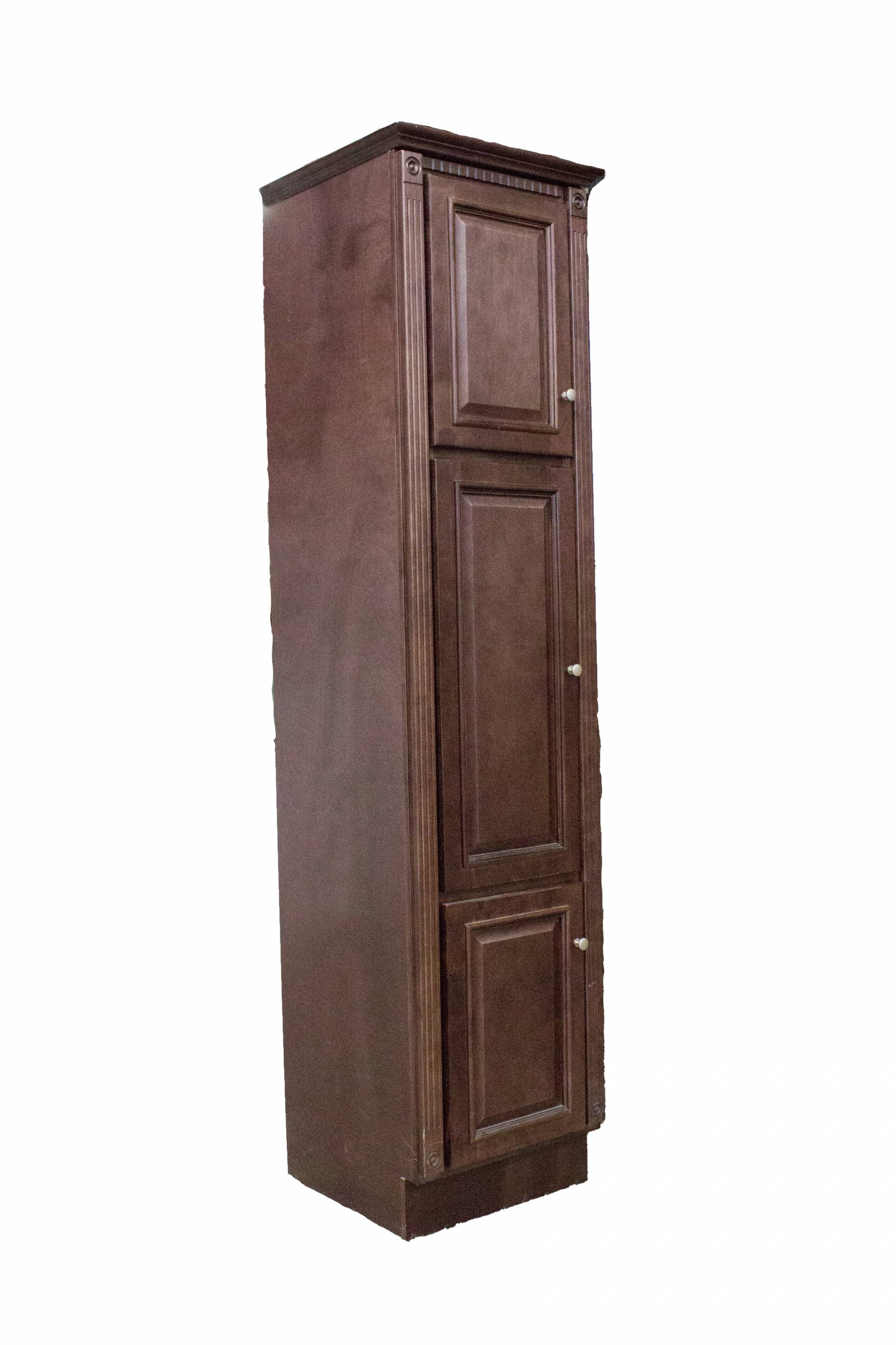 Bathroom Heritage Cherry Linen Cabinet Heeby S Surplus Inc