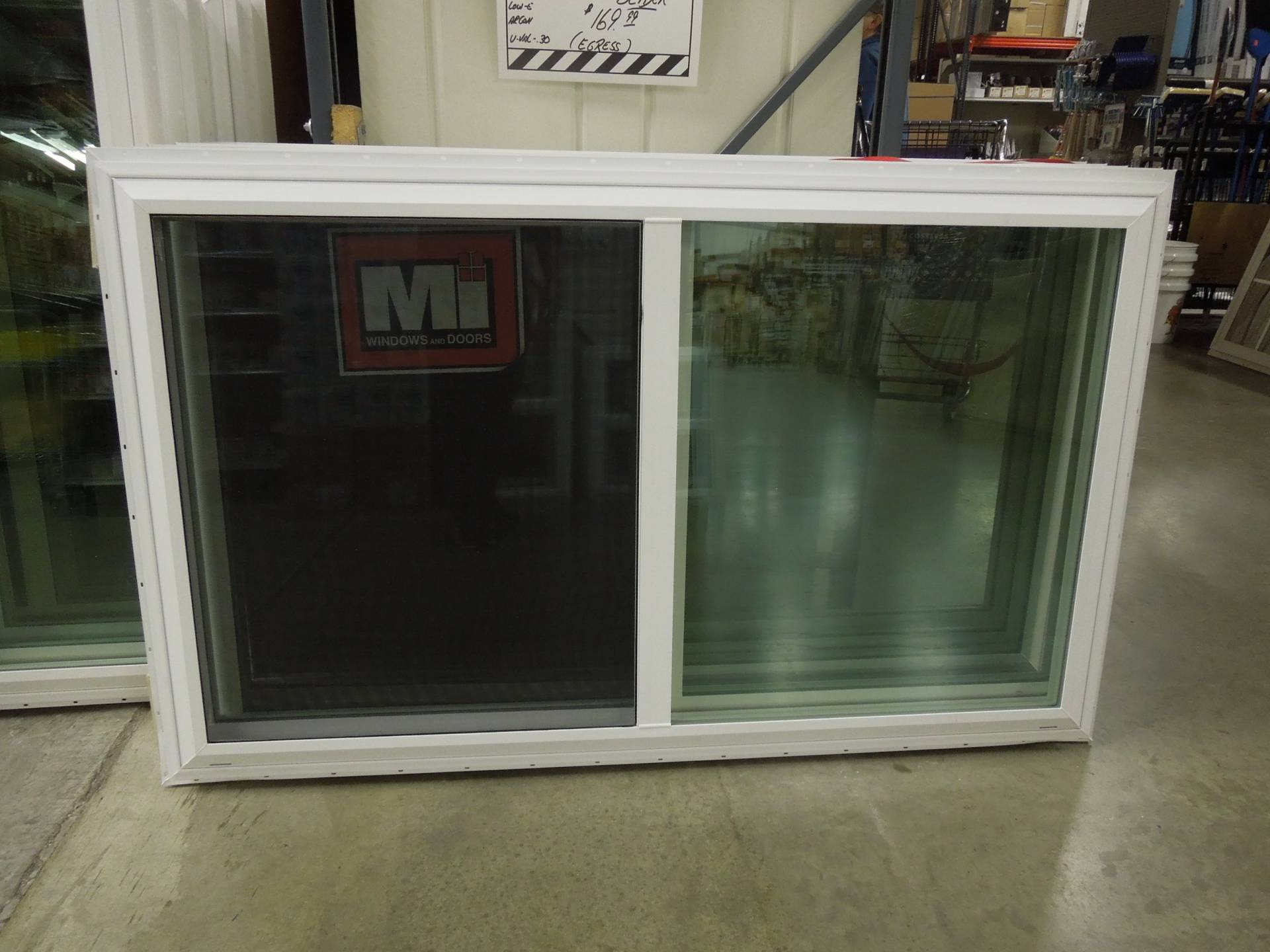 60 X 36 Metal Industry New Construction Slider Window Heebys