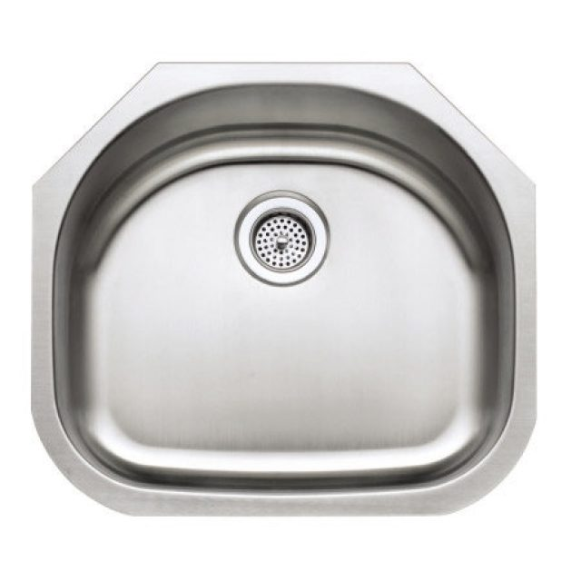 D Bowl Undermount Sink