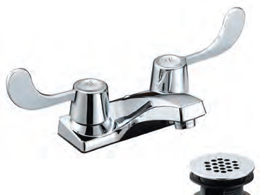 Aqua Plumb Two Handle ADA Bathroom Faucet Heebys Surplus Inc - Ada bathroom faucet