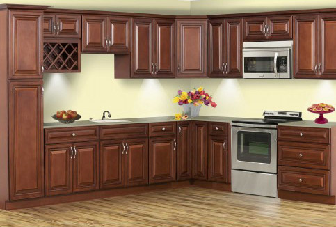 cherry kitchen cabinets. Grand Reserve Cherry Kitchen Cabinets  Assembly Required Heeby S
