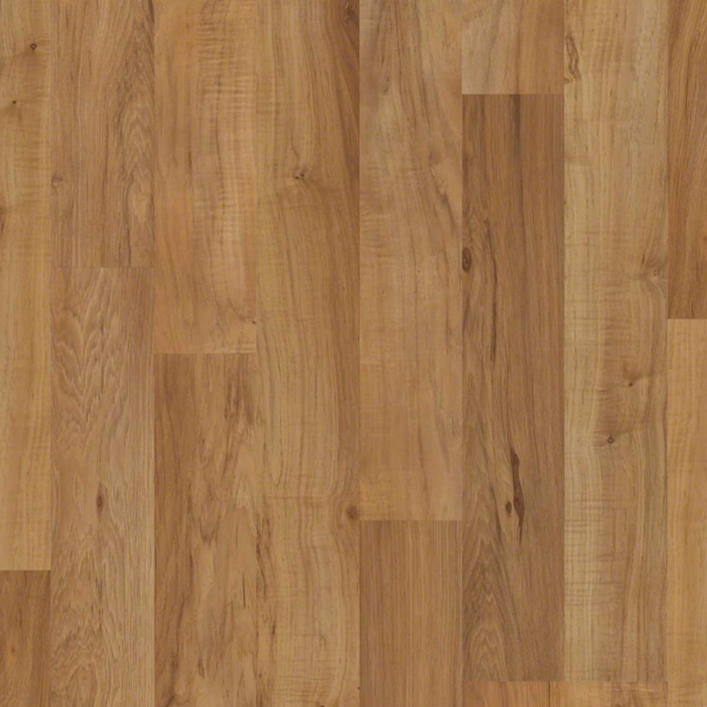 1 39 Sq Ft Shaw 8mm Glueless Laminate Toasted Pecan
