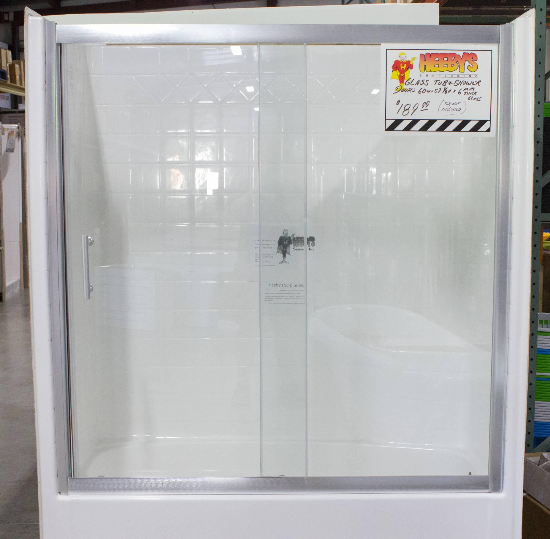 RTJ SDL-1 Sliding Shower Door & RTJ SDL-1 Sliding Shower Door   Heeby\u0027s Surplus Inc.