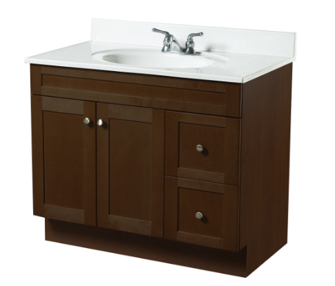 36 x 18 java rta vanity heeby 39 s surplus inc 36 x 18 bathroom vanity cabinet