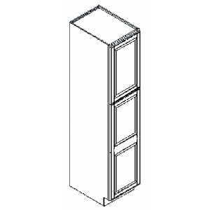 18 X 24 84 Westbrook Designer White Kitchen Pantry Cabinet