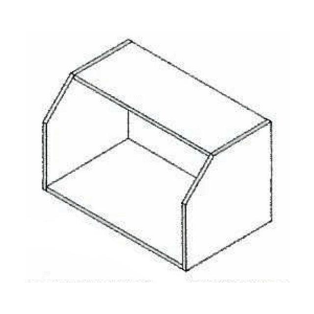 30 X 18 Nantucket Linen Kitchen Microwave Cabinet Heeby S Surplus Inc