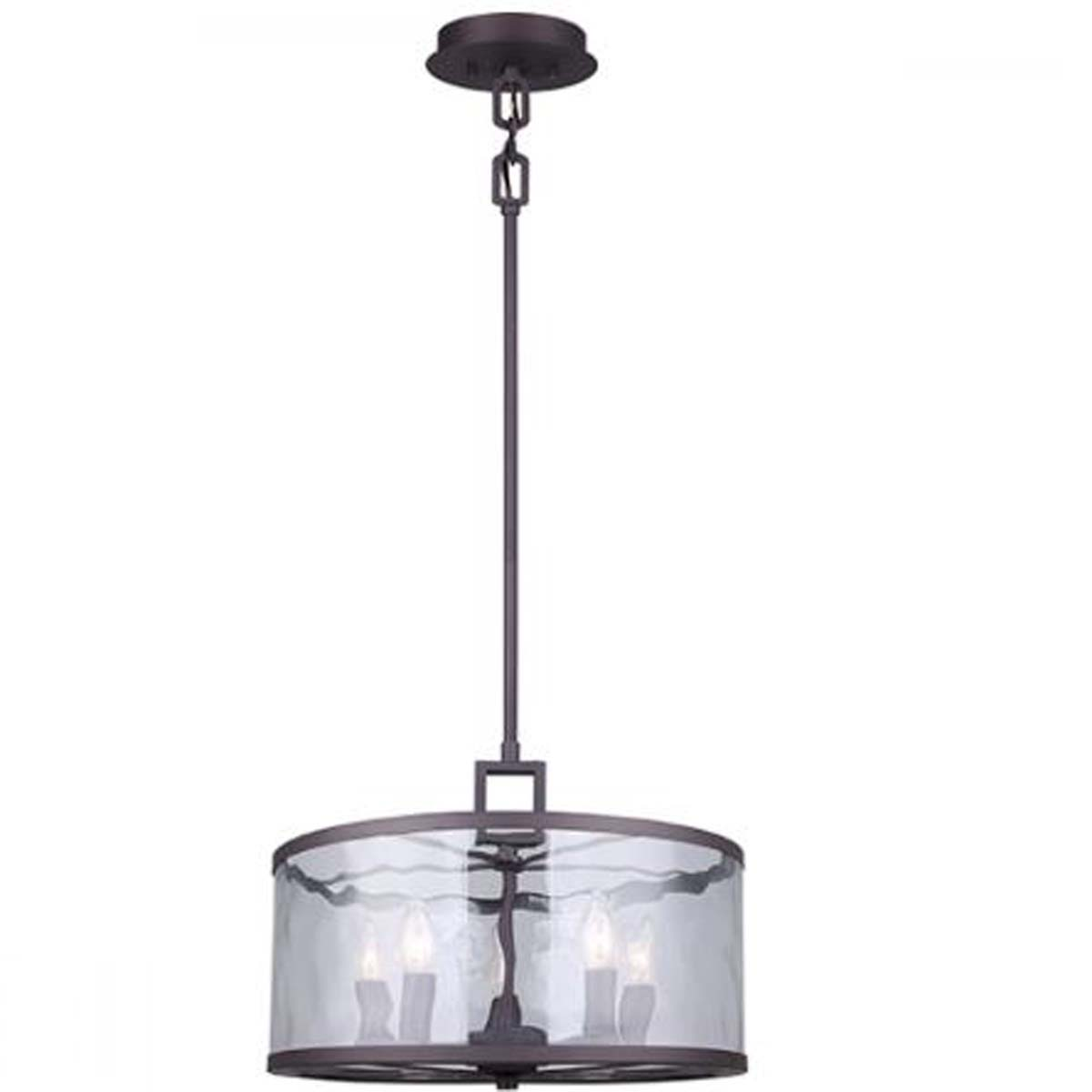 Canarm cala 5 light chandelier oil rubbed bronze