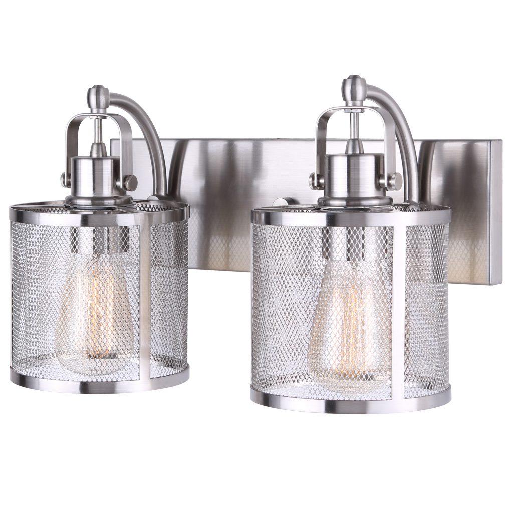 Surplus Bathroom Fixtures: Beckett 2 Light Vanity Light
