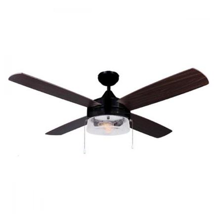 48 ceiling fan with light industrial canarm mill 48u2033 ceiling fan with light oil rubbed bronze finish 48