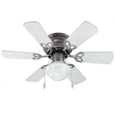 Canarm Twister 30 Ceiling Fan With Light Brushed Pewter Heeby S Surplus Inc