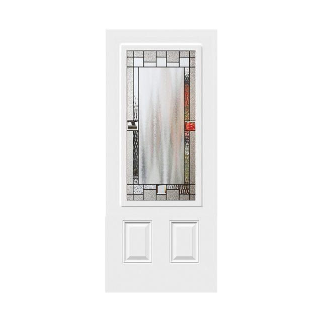 Portrait Glass Doors